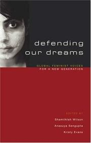 Cover of: Defending our dreams |