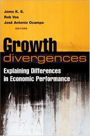 Cover of: Growth divergences