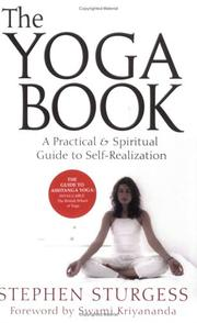 Cover of: The Yoga Book | Stephen Sturgess