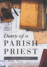Cover of: Diary of a parish priest | Andrew Sangster