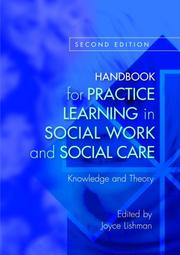 Cover of: Handbook for Practice Learning in Social Work and Social Care