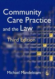 Cover of: Community care practice and the law