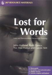 Cover of: Lost For Words | Ruth Dance