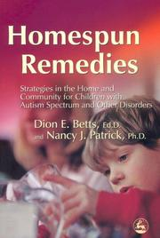 Cover of: Homespun remedies | Dion E. Betts