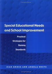 Cover of: Special Educational Needs and School Improvement | Jean Gross