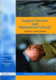 Cover of: Support Services and Mainstream Schools