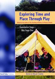Cover of: Exploring Time and Place Through Play | Hilary Cooper