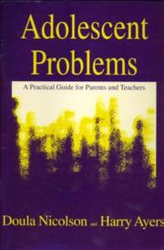 Cover of: Adolescent problems