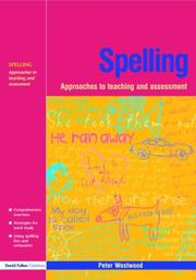 Cover of: Spelling