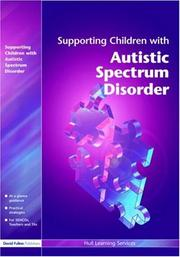 Cover of: Supporting Children with Autistic Spectrum Disorders (Supporting Children) | Learning Servic