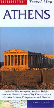 Cover of: Athens Travel Map