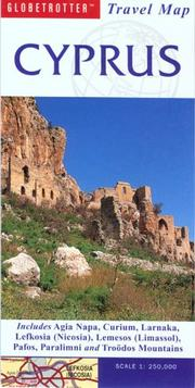Cover of: Cyprus Travel Map (Globetrotter Travel Map) | Globetrotter