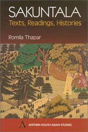 Cover of: Śakuntalā: texts, readings, histories