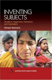 Cover of: Inventing subjects | Himani Bannerji