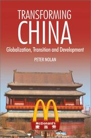 Cover of: Transforming China | Peter Nolan
