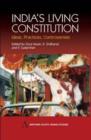 Cover of: India's Living Constitution |