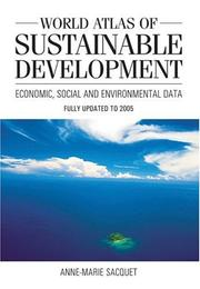 Cover of: World Atlas of Sustainable Development | Anne-Marie Sacquet