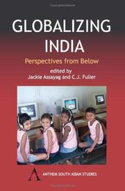 Cover of: Globalizing India