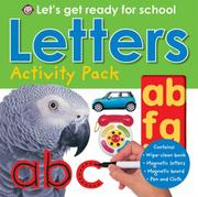 Cover of: Letters (Let's Get Ready for School)