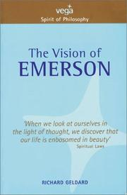 Cover of: The Vision of Emerson