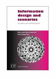 Cover of: Scenarios and Information Design | Mary, Lynn Rice-Lively