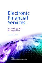 Cover of: Electronic Financial Services | Hakman, A Wan