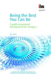 Cover of: Being the Best You Can Be | Ian Hunt