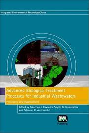Cover of: Advanced Biological Treatment Processes for Industrial Wastewaters |