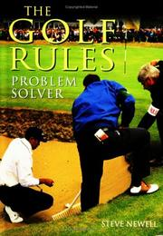 Cover of: Golf Rules Problem Solver