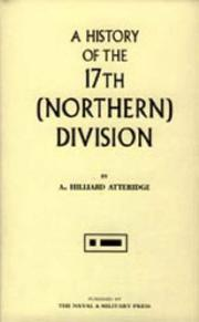 Cover of: History of the 17th Northern Division | Atteridge, A. Hilliard