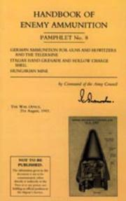 Cover of: Handbook of Enemy Ammunition by War Office