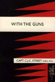 Cover of: With the Guns | C. J. C Street