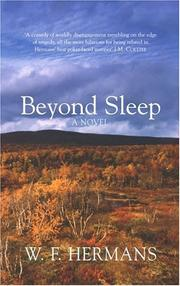 Cover of: Beyond sleep