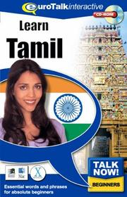 Cover of: Talk Now! Tamil | Topics Entertainment