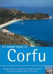 Cover of: The Rough Guide to Corfu 1 | John Gill