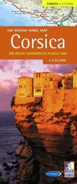 Cover of: The Rough Guide to Corsica Map