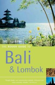 Cover of: The Rough Guide to Bali & Lombok 5 (Rough Guide Travel Guides) | Lesley Reader