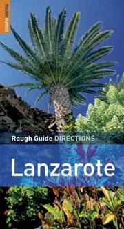 Cover of: The Rough Guides' Lanzarote Directions