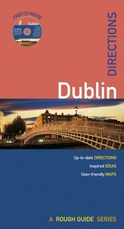 Cover of: Rough Guides Directions to Dublin (Rough Guide Directions) | Paul Gray