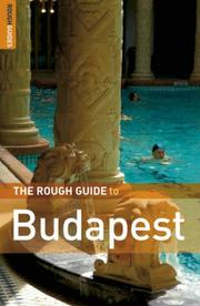Cover of: The Rough Guide to Budapest 3 (Rough Guide Travel Guides) | Charles Hebbert
