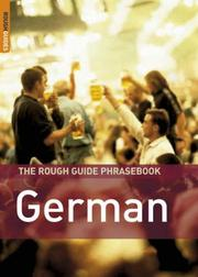 Cover of: The Rough Guide to German Dictionary Phrasebook 3