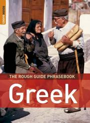 Cover of: The Rough Guide to Greek Dictionary Phrasebook 3