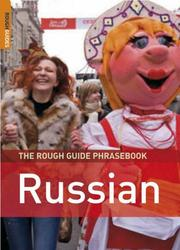 Cover of: The Rough Guide to Russian Dictionary Phrasebook 3