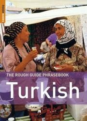 Cover of: The Rough Guide to Turkish Dictionary Phrasebook 3