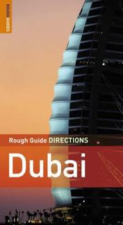 Cover of: The Rough Guides' Dubai Directions 1 (Rough Guide Directions)