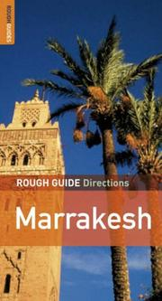 Cover of: The Rough Guides' Marrakesh Directions 2 (Rough Guide Directions)