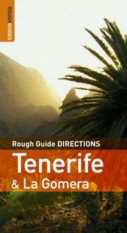 Cover of: The Rough Guides' Tenerife Directions 2 (Rough Guide Directions)