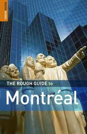 Cover of: The Rough Guide to Montreal 3