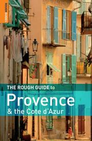 Cover of: The Rough Guide to Provence and the Cote d'Azur 6 (Rough Guide Travel Guides)