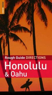 Cover of: The Rough Guides' Honolulu  &  Oahu Directions 1 (Rough Guide Directions)